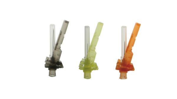 注射器带防针刺注射针